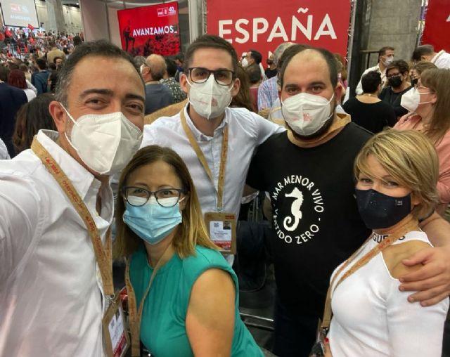 El Secretario General del PSOE de Totana, Víctor Balsas, ha participado este fin de semana en el 40 Congreso Federal de su partido, dentro de la delegación murciana