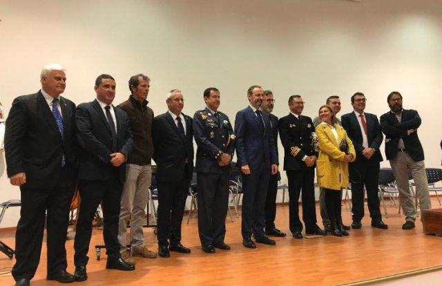 El RCR Santiago de la Ribera otorgo el título de Socio de Honor a la Armada Española - 1, Foto 1