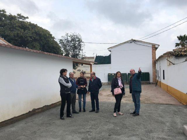 Visita a las actuaciones de renovación de la plaza de La Ermita y su entorno, en Puerto Lumbreras - 1, Foto 1