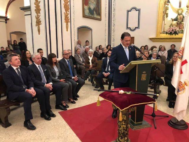 El alcalde Gaspar Miras renueva el voto de la Villa de Mazarrón a la Purísima Concepción - 1, Foto 1