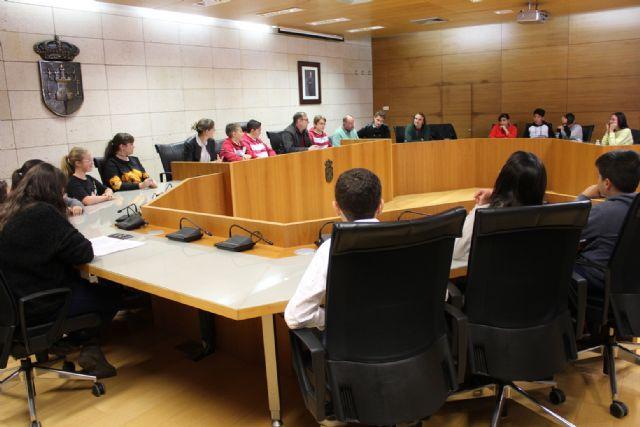 """Celebran la última sesión del tercer pleno infantil """"Totana, hacia una ciudad más sostenible"""""""