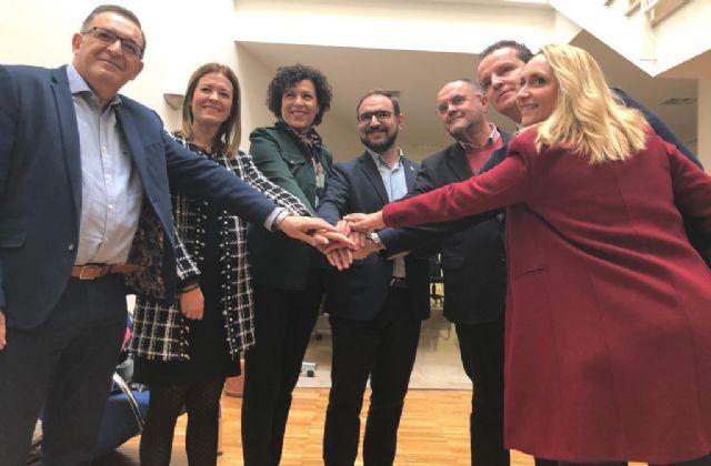 El alcalde de Totana participa en el encuentro de alcaldes de municipios del Guadalentín, organizado por Ceclor