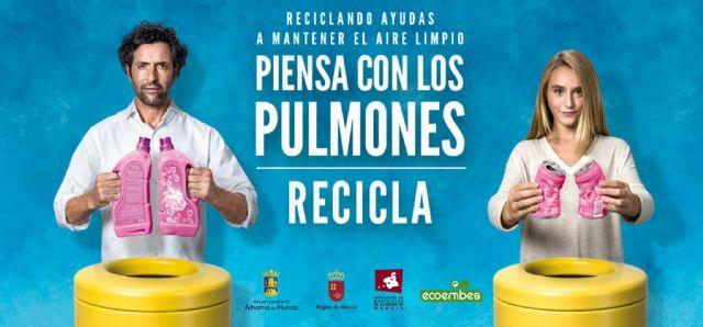 Ecoembes y el Ayuntamiento de Alhama, comprometidos con el reciclaje, Foto 2