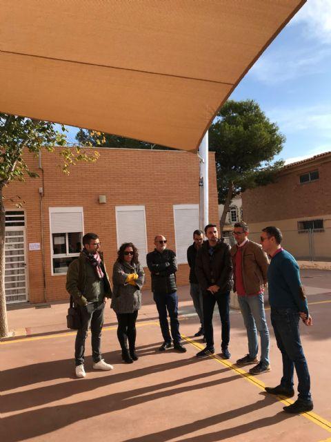 El colegio Hernández Ardieta ya cuenta con un toldo para evitar las alta temperaturas - 4, Foto 4