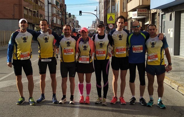 Gran papel del CAT en la Media Maratón de Lorca