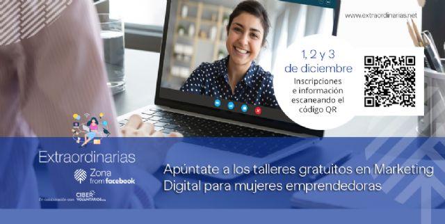Talleres gratuitos de Marketing Digital para mujeres emprendedoras - 1, Foto 1