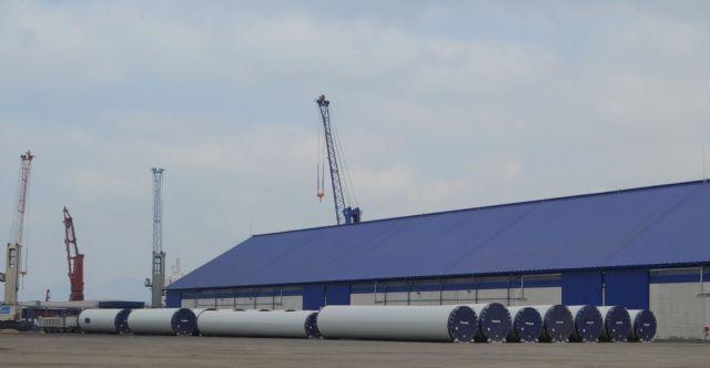 El Puerto de Cartagena afianza la exportación de piezas eólicas con más de 700 unidades hasta octubre - 2, Foto 2