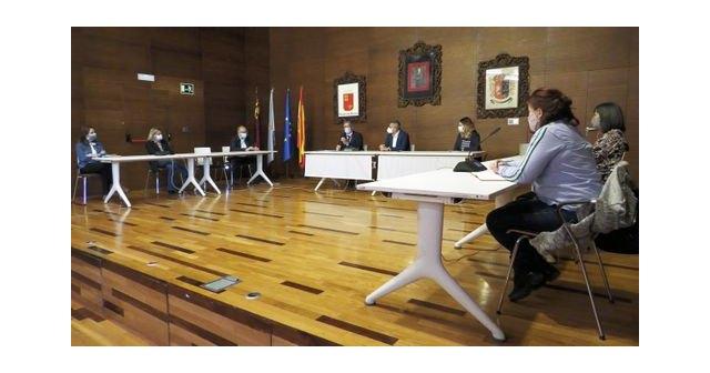 Reunión de coordinación entre el Alcalde y el Gerente del �rea 2 de Salud para controlar la pandemia en el Municipio - 1, Foto 1