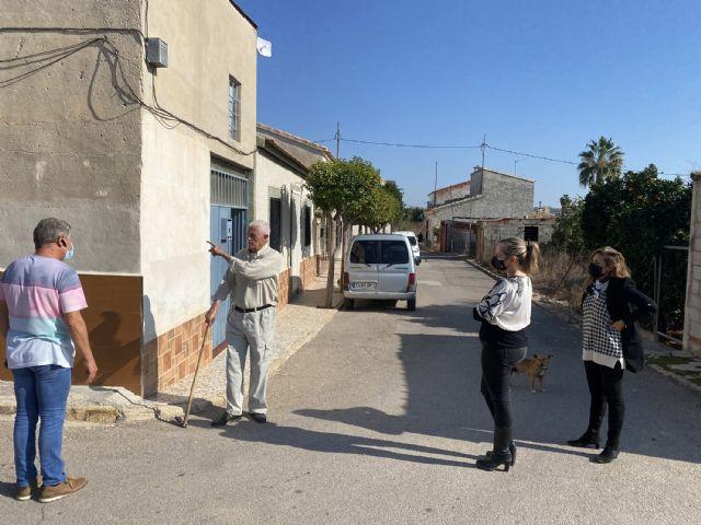 A punto de comenzar las obras de renovación de aceras y asfaltado del paraje de Los Risos - 1, Foto 1