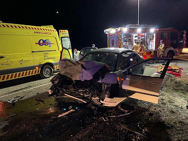 Accidente de tráfico en El Sabinar (Moratalla) - 1, Foto 1