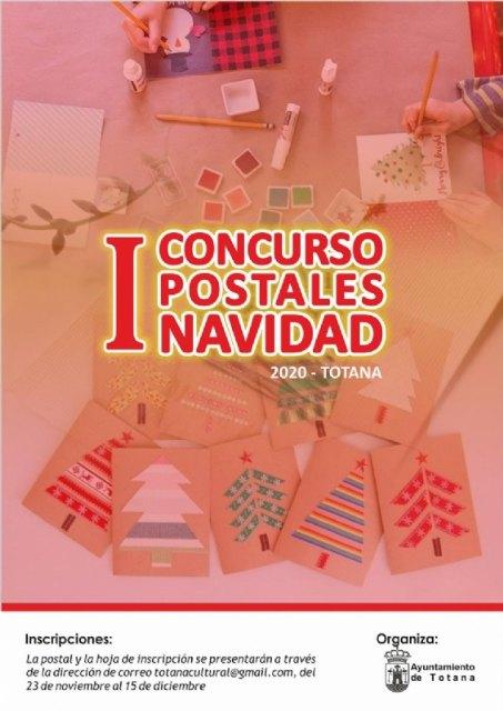 La Concejal�a de Cultura organiza el I Concurso de Postales de Navidad - Totana 2020, Foto 1