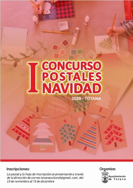 The Department of Culture organizes the I Christmas Postcard Contest - Totana 2020, Foto 1