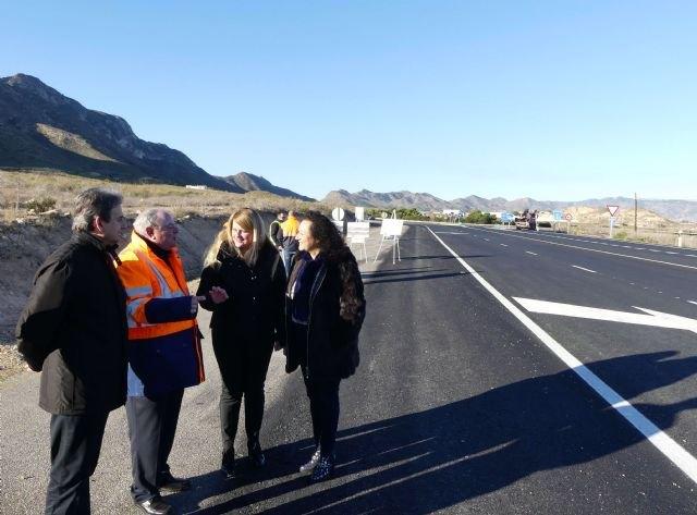 Fomento invierte más de 300.000 euros en mejorar las dos carreteras que unen Mazarrón con Cartagena y con Bolnuevo - 1, Foto 1