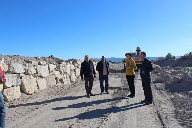 La Confederación Hidrográfica del Segura realiza actuaciones de mejora en la Rambla del Murciano - 1, Foto 1