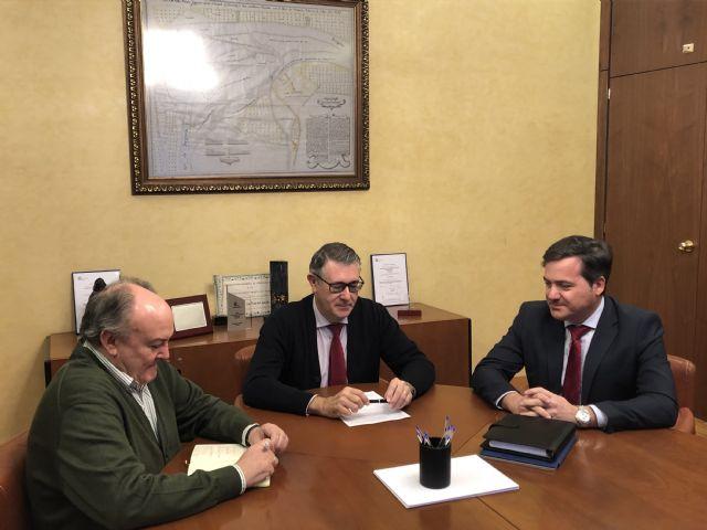 El alcalde de Fuente Álamo pide a la CHS que agilice las concesiones de agua de los regantes de Valdelentisco - 1, Foto 1