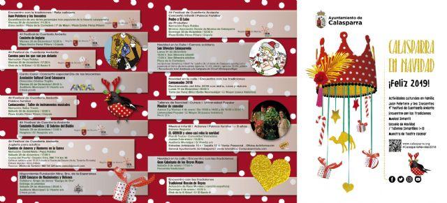 Calasparra, destino en Navidad. Presentada la programación especial - 1, Foto 1