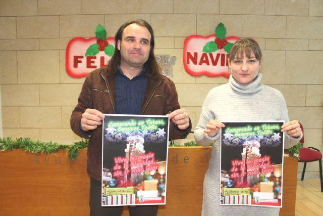 El Ayuntamiento promueve una campaña dirigida a fomentar las compras de Navidad y Reyes en los establecimientos comerciales del municipio de Totana