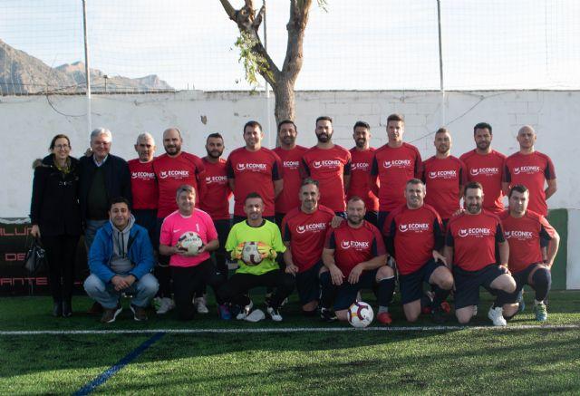 ECONEX patrocina el nuevo equipo de fútbol Santomera Veteranos - 1, Foto 1
