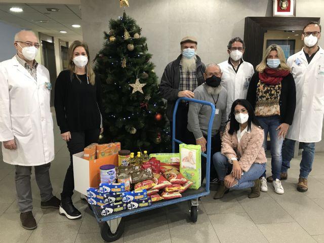 El Hospital de Molina se suma a la campaña de recogida de alimentos de Cáritas - 1, Foto 1