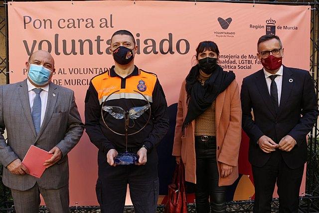 Los premios del voluntariado reconocen la labor solidaria de Protección Civil de Cieza - 1, Foto 1