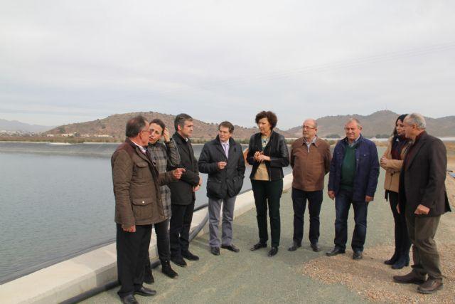 La alcaldesa y la Comunidad de Regantes se reúnen con el consejero de Agua, Agricultura y Ganadería - 1, Foto 1