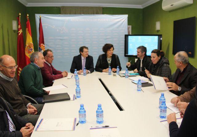 La alcaldesa y la Comunidad de Regantes se reúnen con el consejero de Agua, Agricultura y Ganadería - 3, Foto 3