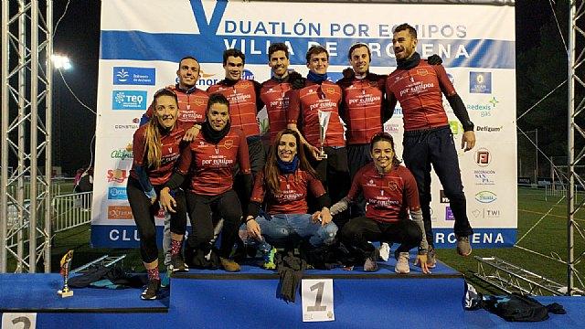 Águilas Primaflor conquista el Campeonato Regionales de Duatlón por Equipos contrarreloj - 1, Foto 1