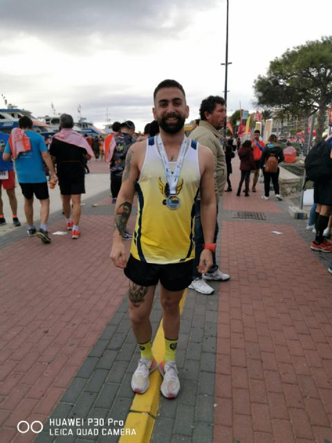Borja Martínez represents the CAT in the Half Marathon of Santa Pola
