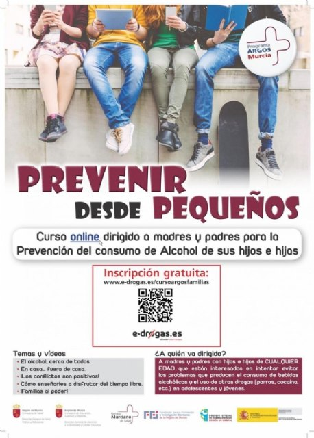 [Registration open for the course â € œprevent from childhood. Course for parents to prevent their children's alcohol consumptionâ € ??