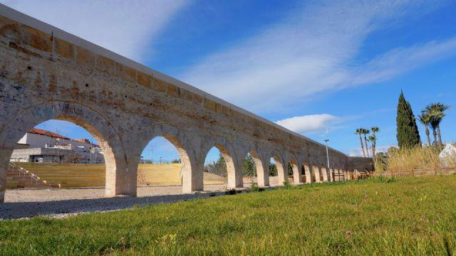 Finalizan las obras de restauración del Acueducto de Alcantarilla - 1, Foto 1