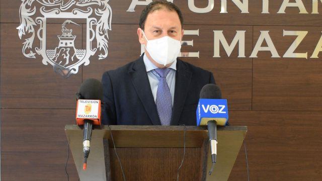 El alcalde de Mazarrón pone a disposición de los centros de salud los medios municipales para el control de la pandemia y programa de vacunación - 1, Foto 1