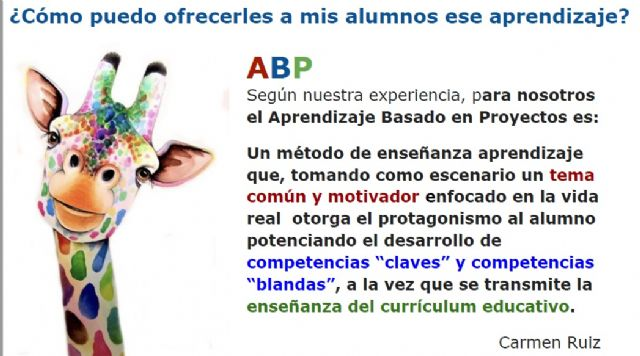[Project Based Learning (ABP) and / or Challenges (ABR)