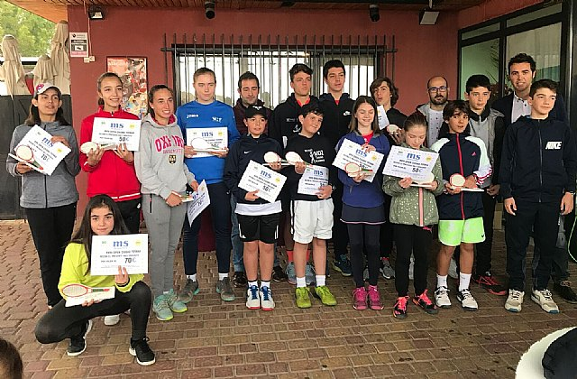 "Ends the XVIII Open Tennis Promises ""Ciudad de Totana"""