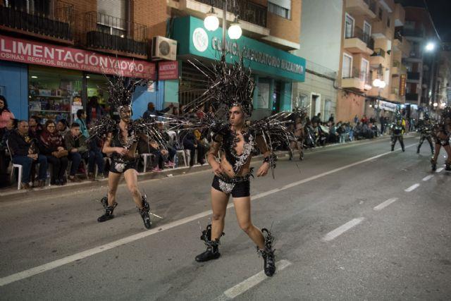Rosazul de Sangonera la Verde gana el desfile de peñas visitantes, Foto 2