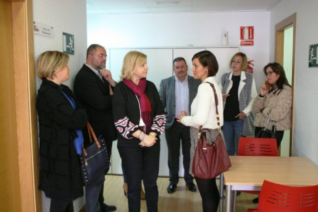 The Minister of Family and Equal Opportunities, Violante Tomás, visited Totana today