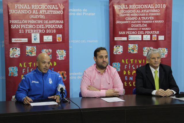 San Pedro del Pinatar acogerá las finales regionales del programa de Deporte Escolar en las modalidades de atletismo, campo a través y duatlón - 1, Foto 1