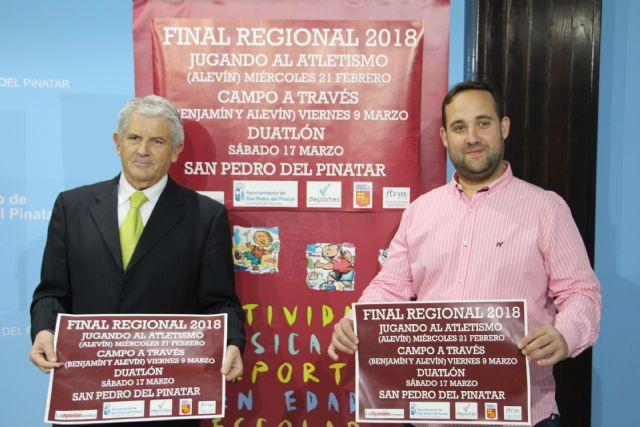 San Pedro del Pinatar acogerá las finales regionales del programa de Deporte Escolar en las modalidades de atletismo, campo a través y duatlón - 2, Foto 2