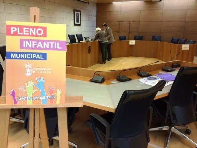 El Pleno infantil del curso 2018/2019 se celebra este jueves bajo el título Totana, hacia una ciudad más sostenible - 4, Foto 4