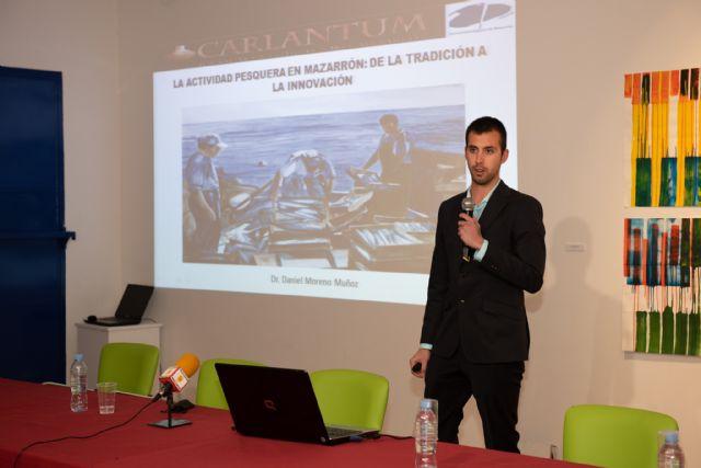 La actividad pesquera del municipio protagonista en la primera de las ponencias de Carlantum, Foto 1