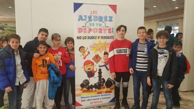 Los centros de enseñanza Santiago, Reina Sof�a, La Cruz y el IES Prado Mayor participaron en la Final Regional de Ajedrez de Deporte Escolar, Foto 2