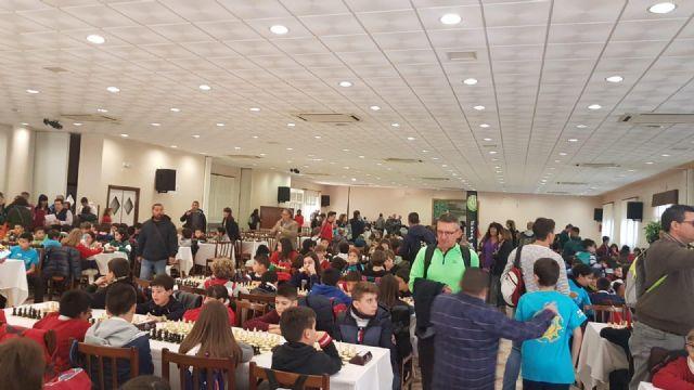 Los centros de enseñanza Santiago, Reina Sof�a, La Cruz y el IES Prado Mayor participaron en la Final Regional de Ajedrez de Deporte Escolar, Foto 3