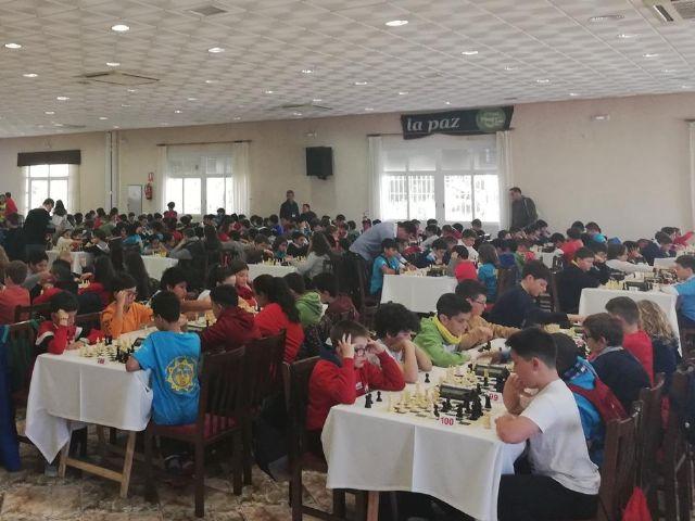 Los centros de enseñanza Santiago, Reina Sof�a, La Cruz y el IES Prado Mayor participaron en la Final Regional de Ajedrez de Deporte Escolar, Foto 4