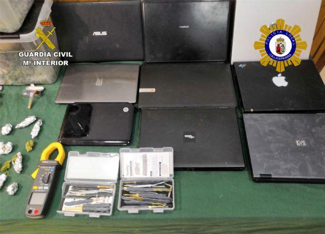 Desmantelado un activo punto de producción y venta de drogas en Calasparra - 4, Foto 4