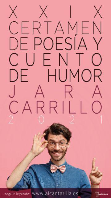 Abierto el plazo para participar en el Certamen Internacional de Poesía y Cuento de Humor Jara Carrillo - 1, Foto 1