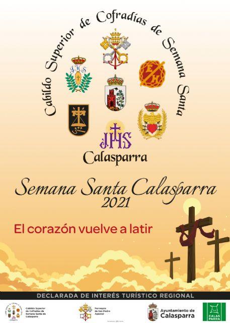 Presentación de la programación y el cartel de la Semana Santa 2021 de Calasparra - 1, Foto 1