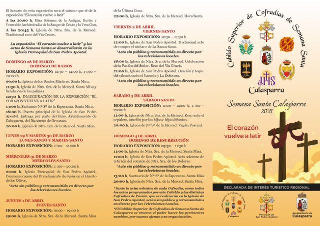 Presentación de la programación y el cartel de la Semana Santa 2021 de Calasparra - 4, Foto 4