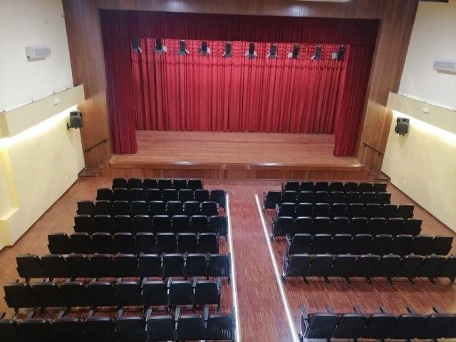[Finalizan las obras de rehabilitación del Teatro Ginés Rosa del Centro Sociocultural La Cárcel