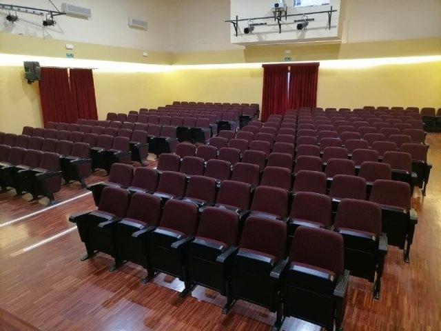Finalizan las obras de rehabilitación del Teatro Ginés Rosa del Centro Sociocultural La Cárcel, Foto 2