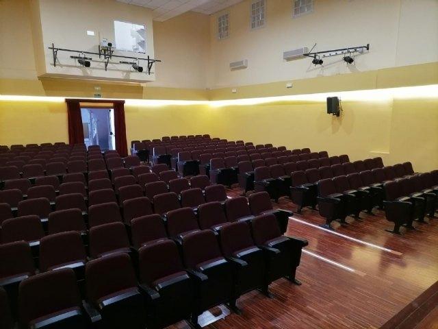 Finalizan las obras de rehabilitación del Teatro Ginés Rosa del Centro Sociocultural La Cárcel, Foto 3