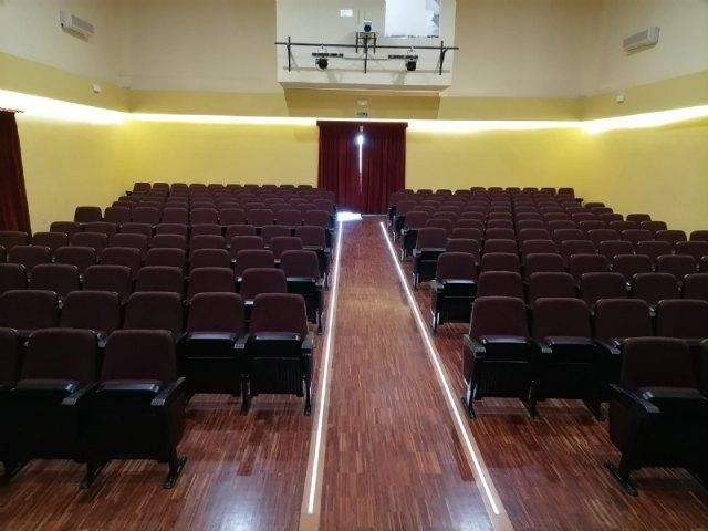 Finalizan las obras de rehabilitación del Teatro Ginés Rosa del Centro Sociocultural La Cárcel, Foto 4